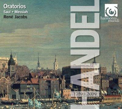 Oratorios de Haendel por René Jacobs en Harmonia Mundi
