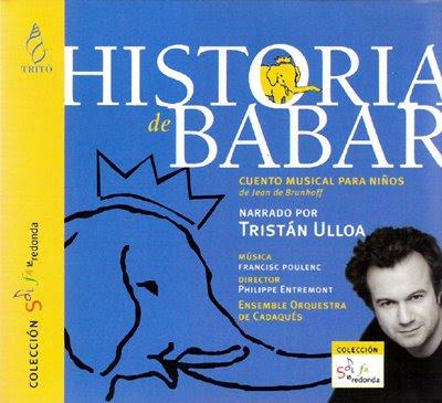 Historia de Babar de Poulenc
