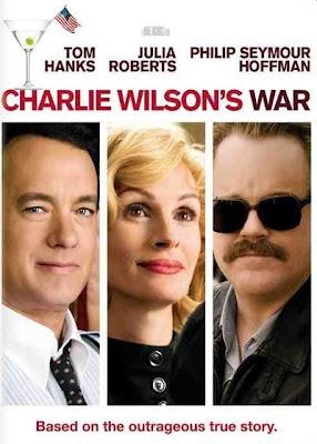 Un cartel de La guerra de Charlie Wilson