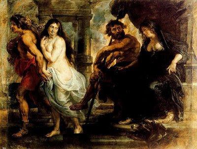 Orfeo y Eurídice de Rubens