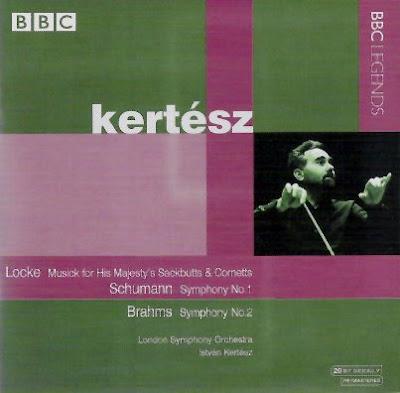 Sinfonías de Schumann y Brahms por István Kertész en BBC Legends