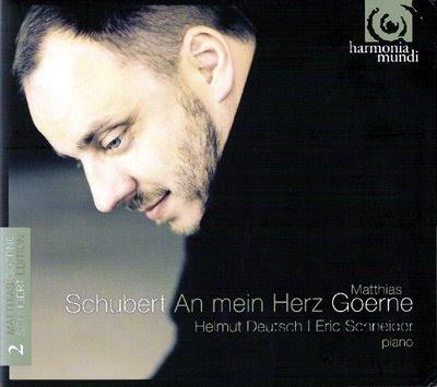 Segundo volumen de lieder de SChubert de Matthias Goerne