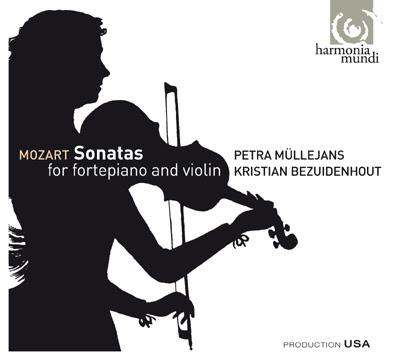 Sonatas de Mozart por Petra Müllejans
