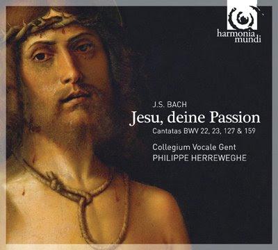 Cantatas BWV 22, 23, 127 y 159 de Bach por Herreweghe