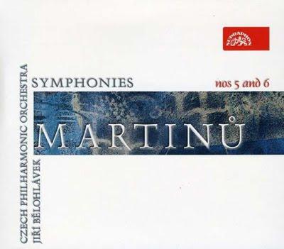 Sinfonías 5 y 6 de Martinu por Belohlavek en Supraphon