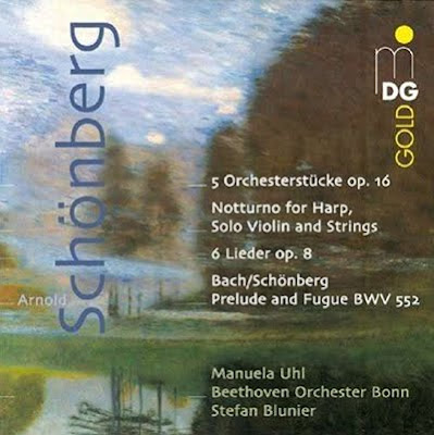 Obras para orquesta de Schönberg en MDG