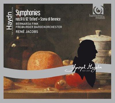 Sinfonías de Haydn por René Jacobs