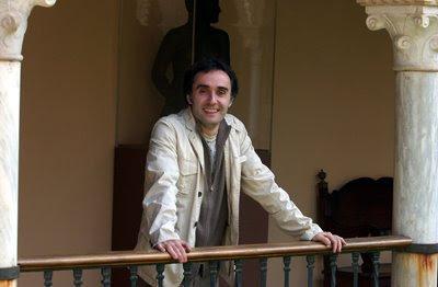 Vittorio Ghielmi en la Casa de los Pinelo, en Sevilla (© Manuel Gómez / Diario de Sevilla)
