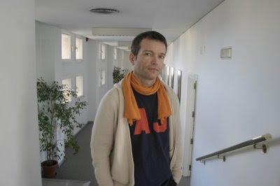 Christophe Rousset en las oficinas del Teatro de la Maestranza de Sevilla (© De Lamadrid / Diario de Sevilla)