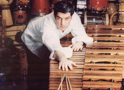 El percusionista Juanjo Guillem