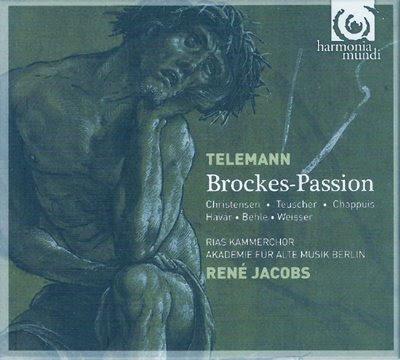 La Brockes-Passion de Telemann por René Jacobs