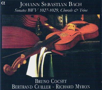 Cocset graba las Sonatas para viola da gamba de Bach en Alpha