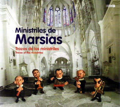 Ministriles de Marsias en el sello NB