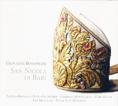 San Nicola di Bari de Bononcini en el sello Ramée
