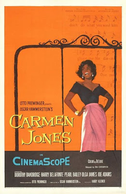 Un cartel de Carmen Jones de Preminger