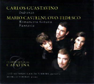 El Cuarteto vocal Cavatina canta música de Guastavino y Castelnuovo-Tedesco