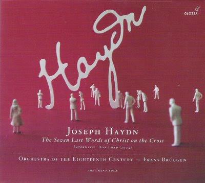 Siete últimas palabras de Cristo de Haydn por Brüggen en Glossa