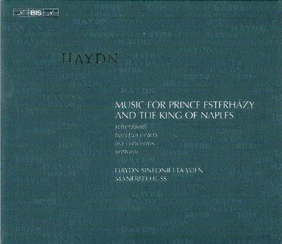 6 discos con música de Haydn por Manfred Huss en el sello Bis
