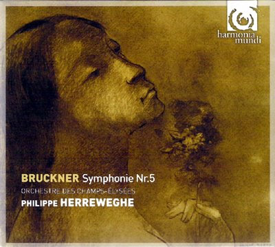 la 5ª de Bruckner por Herreweghe en Harmonia Mundi