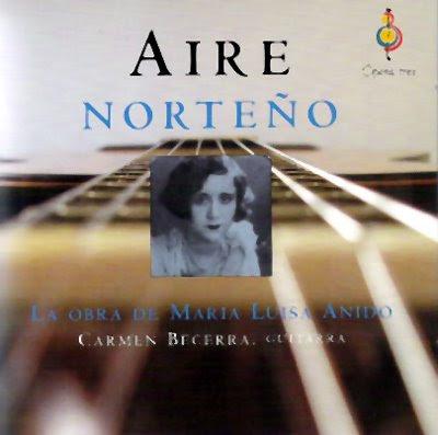 Carmen Becerra toca música para guitarra de María Luisa Anido