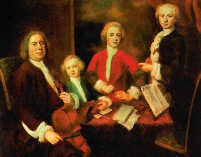Identificado durante mucho tiempo como un retrato de la familia Bach, bien podría serlo de la familia Abel