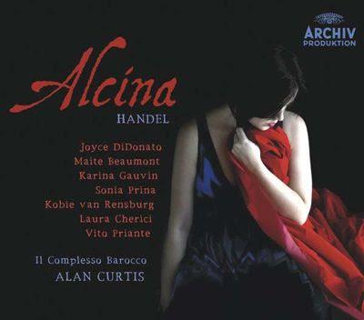 Alcina de Haendel por Alan Curtis en Archiv