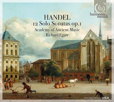 Op.1 de Haendel por Richard Egarr y solistas de la Academy of Ancient Music en HM