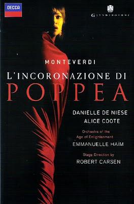 L'Incoronazione di Poppea de Monteverdi en la versión de Robert CArsen y Emmanuelle Haïm para Glyndebourne'08 (Decca)