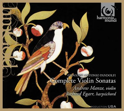 Sonatas de Pandolfi Mealli por Manze y Egarr