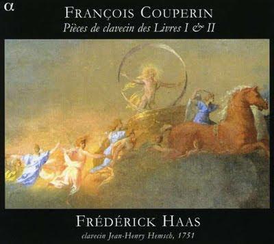 Piezas de clave de Couperin por Haas en Alpha
