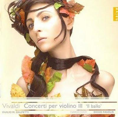 Tercer volumen de conciertos para violín en la Edición Vivaldi de Naïve