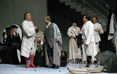 Un momento de La mujer silenciosa de Strauss en la producción de Marco Arturo Marelli que se verá en el Maestranza