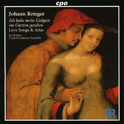 Arias y canciones de Johann Krieger en Cpo cantadas por Jan Kobow