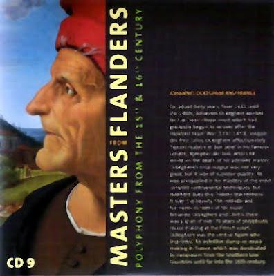 Ockeghem y Francia, noveno volumen de Masters from Flanders
