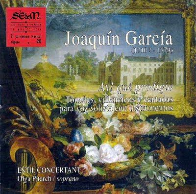 Música de Joaquín García por Estil Concertant