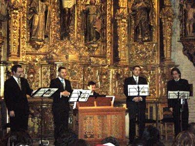 La Trulla de Bozes en el Monasterio de San Isidoro del Campo (3 de diciembre de 2009)