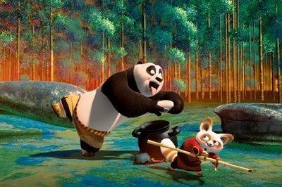 Po the Panda - Kung Fu Panda