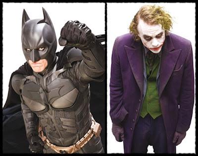 Batman and the Joker - The Dark Knight