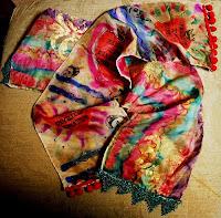 echarpe colorida
