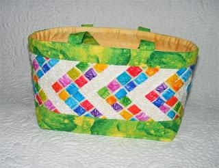saco em patchwork