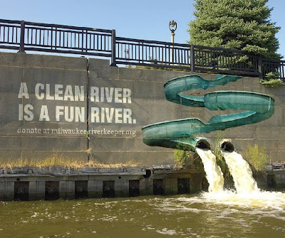 milwaukee cleanriver graffiti ad
