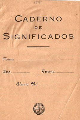 caderno de significados