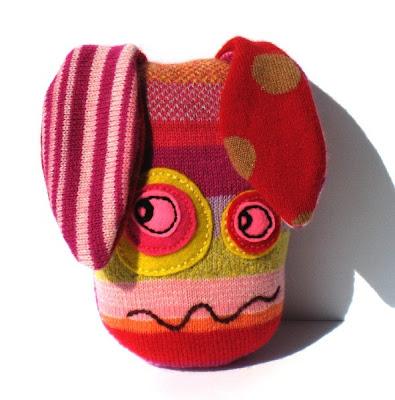 boneco feito de meias