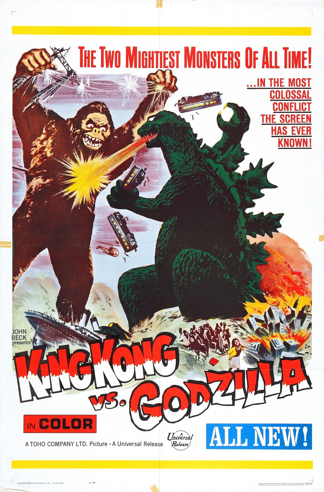 The Cathode Ray Mission Hump Day Posters King Kong Vs