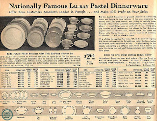 ... Dinnerware promoted The LuRay Starter Set. For a promotional price of $2.64 instead of the usual $4.49 you would receive one place setting of each ...  sc 1 st  C. Dianne Zweig & C. Dianne Zweig - Kitsch \u0027n Stuff: Hooray For LuRay Pastel ...