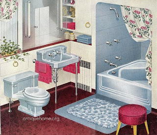 C dianne zweig kitsch 39 n stuff introducing color for 1940s bathroom decor
