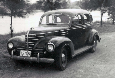 Taipei air station large planes and old cars for 1939 plymouth sedan 4 door
