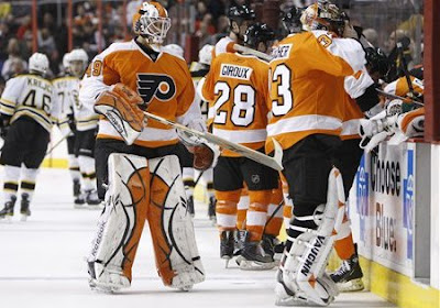 flyers goalie sucks