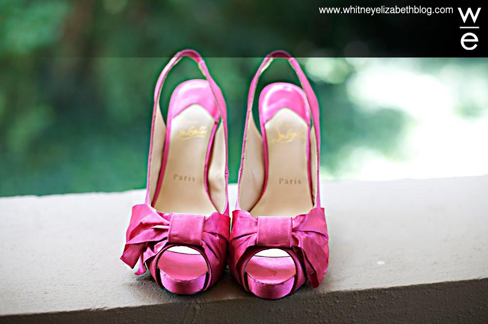 hot pink shoes. stellar hot pink heels