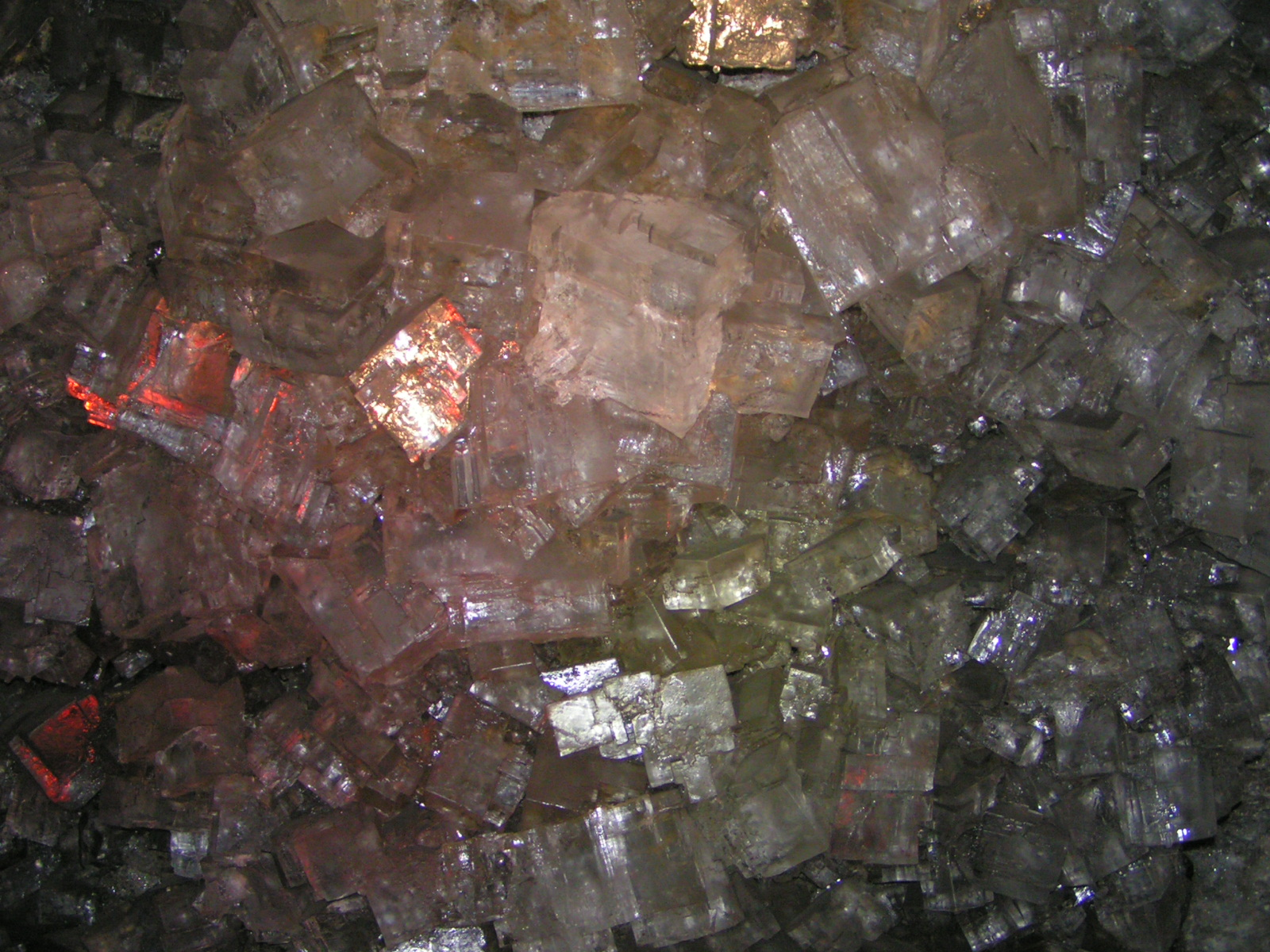 Quartz Crystal Cave Beauty inside the crys...